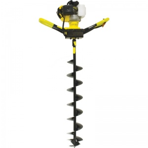 Benzine augers are garden and the accessories